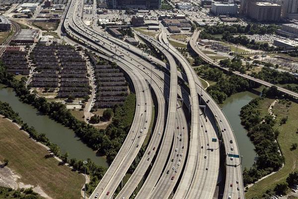 Geogrid infrastructure reinforcement